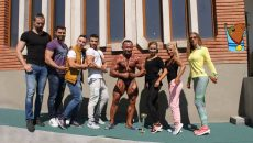Costel Torcea (foto, centru) şi elevii săi au obţinut rezultate remarcabile la Campionatele Naţionale de la Târgu Mureş