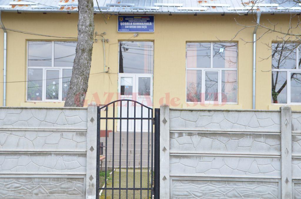 Școala Coțofenii din Față va avea inspecție școlară generală în luna mai (Foto: arhiva GdS)