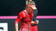 Simona Halep a învins-o pe Watson (foto: Prosport)