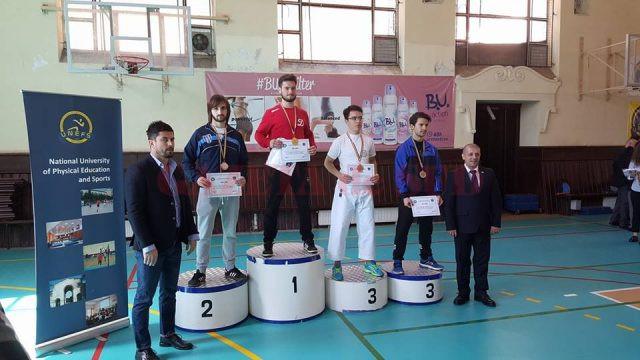 Ionuț Mitrică s-a clasat pe locul doi