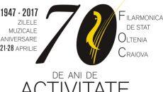 logo_Filarmonica Oltenia_aniversare  70 ani