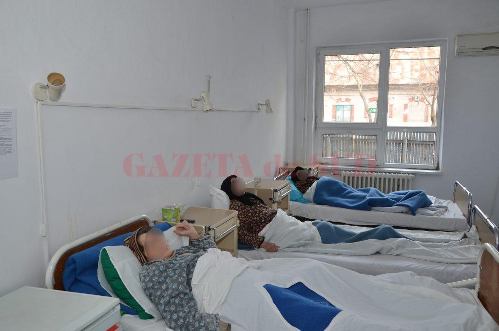 Jumătate dintre pacienții care ajung în Secția de Neurologie ale Spitalului de Neuropsihiatrie Craiova suferă un accident vascular cerebral, iar mulți dintre ei au nevoie de recuperare medicală (Foto: Arhiva GdS)