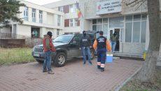 Ofițerii Serviciului Județean Anticorupție Dolj au organizat, pe 15 martie, o acțiune de prindere în flagrant în sediul Centrului de Transfuzie Sanguină Craiova (Foto: arhiva GdS)