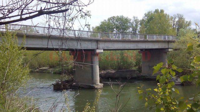 Podul de la Turcineşti, al treilea ca mărime de peste râul Jiu, din Târgu Jiu