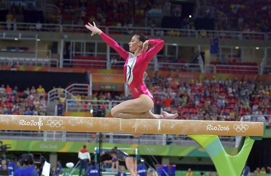 Cătălina Ponor are şanse să aducă o medalie pentru România la competiţia găzduită de Cluj (Foto: Gazeta Sporturilor)