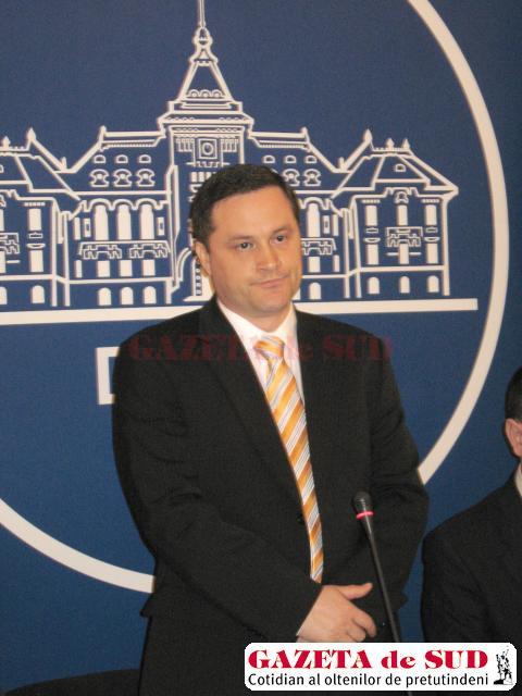 Cristian-Marian Șovăilă, subprefectul de Dolj, schimbat din funcţie