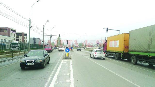 Semafoarele de la Ford vor fi repuse în funcțiune la orele cu trafic de vârf, când angajații companiei vor veni și vor pleca de la serviciu (Foto: Marian Apipie)