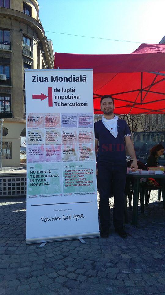 După ce a învins tuberculoza Ștefan Răduț a continuat să lupte pentru drepturile pacienților