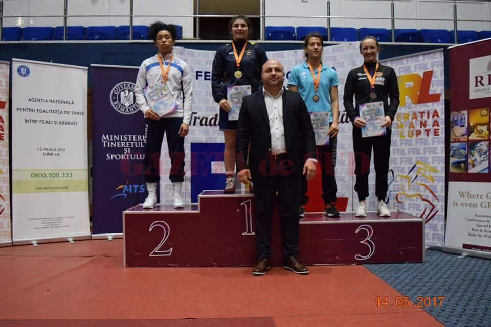 Alexandra Anghel s-a impus categoric la turneul internațional de la București, trecându-și în palmares o nouă medalie de aur