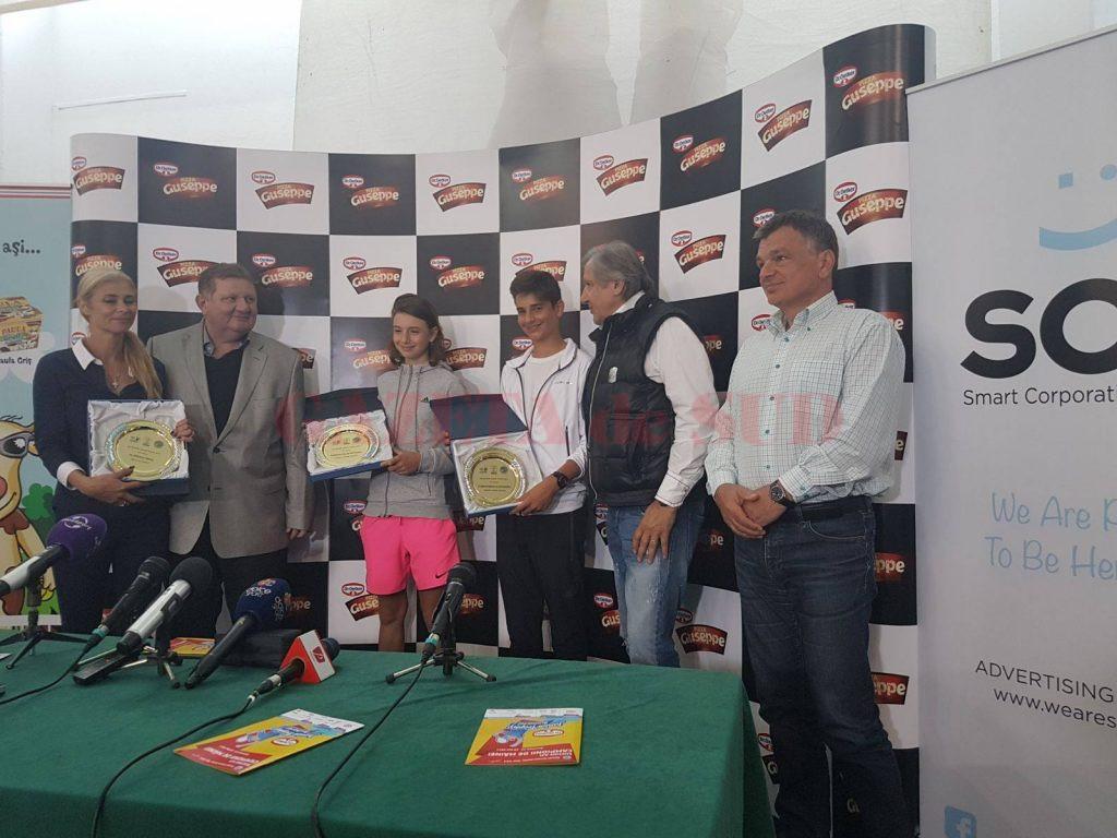 Craioveanul Alexandru Mihai Coman a fost premiat în prezența lui Ilie Năstase dar a altor două mari jucătoare de tenis românce, Irina Begu și Cătălina Cristea