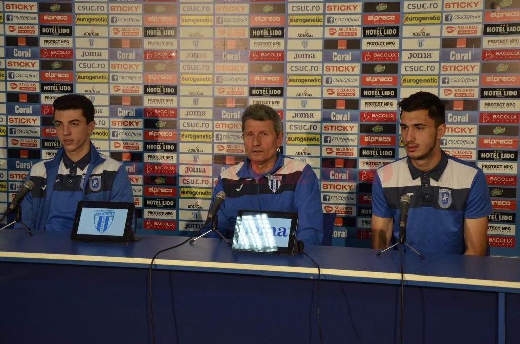 Andrei Vlad, Gigi Mulţescu şi Ivan se simt pregătiţi pentru confruntările cu FCSB şi Voluntari  (Foto: Alexandru Vîrtosu)