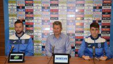 Andrei Dumitraș, Gigi Mulțescu și Radu Bârzan vor un final de campionat en fanfare (Foto: Alexandru Vîrtosu)