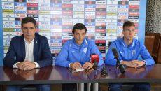 Silviu Bogdan, Daniel Mogoșanu și Raul Constantinescu privesc cu optimism finala campionatului cu Dinamo (Foto: Alexandru Vîrtosu)