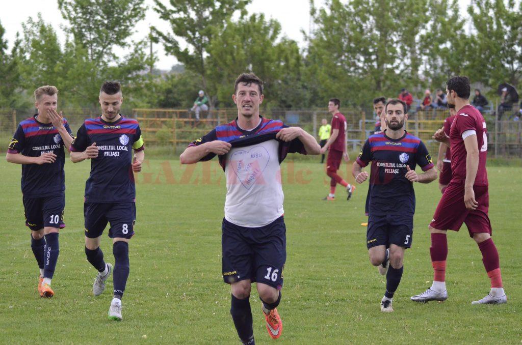 Nicușor Neacșu a fost cel mai bun jucător de pe teren în partida cu Voluntari (Foto: Alexandru Vîrtosu)