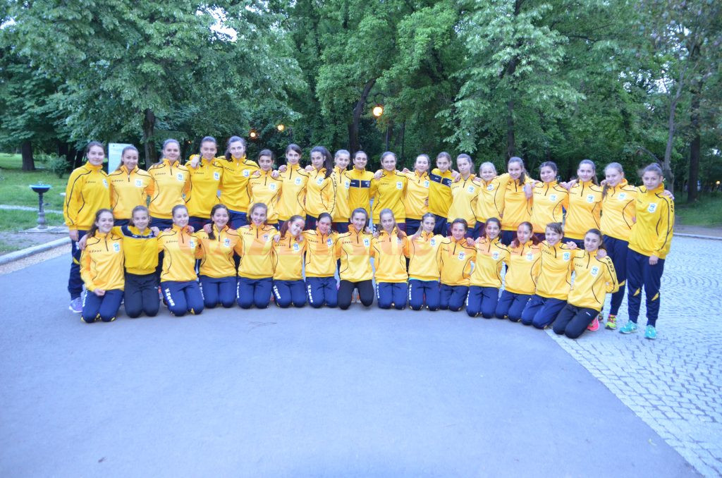 Handbalistele de la HC Universitatea FEFS Craiova s-au calificat în fazele superioare ale campionatului (FOTO: Claudiu Tudor)
