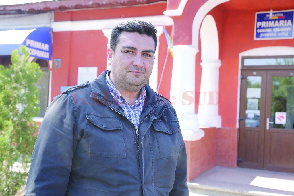 Costin-Ionuţ Ştefănescu, primarul comunei Robăneşti