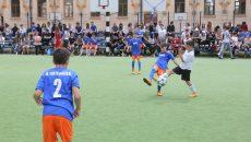 Competiția de fotbal a atras mulți spectatori (foto: Lucian Anghel)