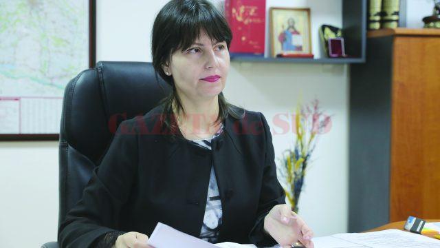 Monica Sună, inspector şcolar general la ISJ Dolj (Foto: Lucian Anghel)
