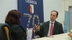 Lucian Anghel, președintele Bursei de Valori București, a spus că în 2032 va fi un raport de un salariat la doi pensionari (Foto: Lucian Anghel)