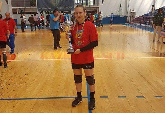 Teodora Popescu a devenit campioană națională cu CSM București