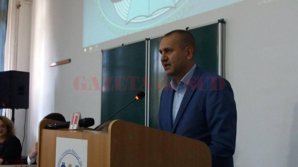 Cosmin Popescu, şeful CJ Gorj