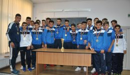 """Fotbaliştii lui """"Costache"""" au ieşit campioni judeţeni la juniori C"""