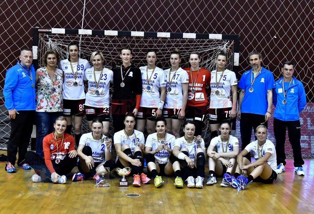 Jucătoarele de la SCM Craiova au disputat finala Cupei României, fiind învinse de CSM Bucureşti (Foto: Răzvan Păsărică)