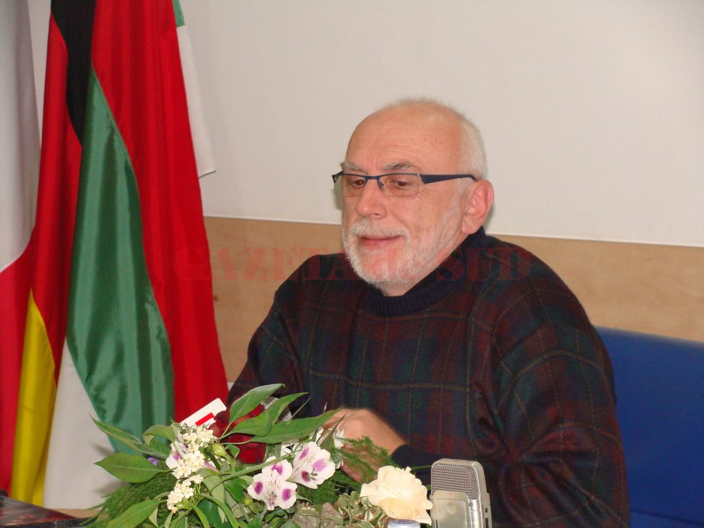 Marian Negrescu, managerul Teatrului din Târgu Jiu