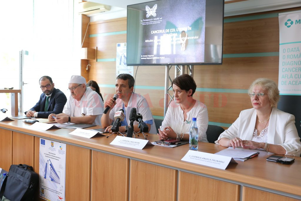 Medicii au discutat luni la Direcția de Sănătate Publică Dolj despre problema cancerului de col uterin