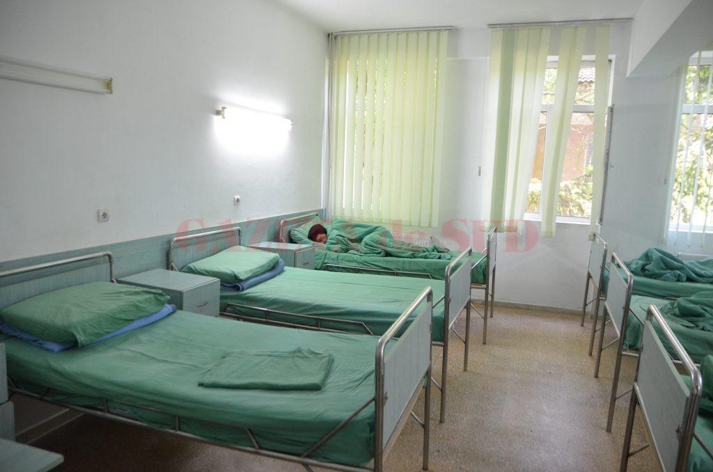 Pacienții cu TBC din Olt sunt internați la Spitalul din Scornicești (Foto: Claudiu Tudor)