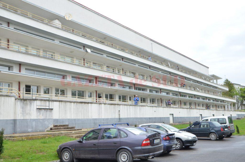 Pacienții internați în Spitalul din Runcu
