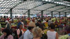 Piaţa Centrală din Târgu Jiu