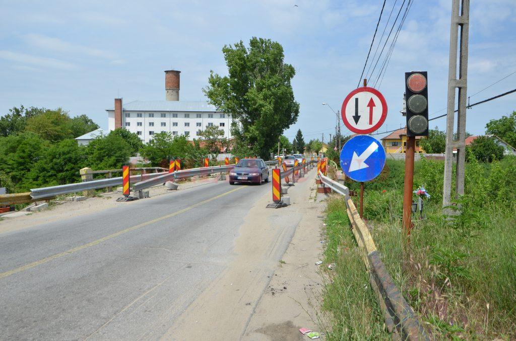 Lucrările la podul de la Malu Mare vor începe în luna iulie (Foto: Claudiu Tudor)