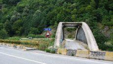 Podul de la Lainici este închis din 2008