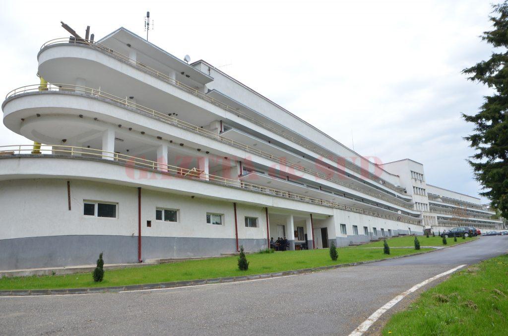 """Spitalul de Pneumoftiziologie """"Tudor Vladimirescu"""" din Runcu, Gorj (Foto: Claudiu Tudor)"""