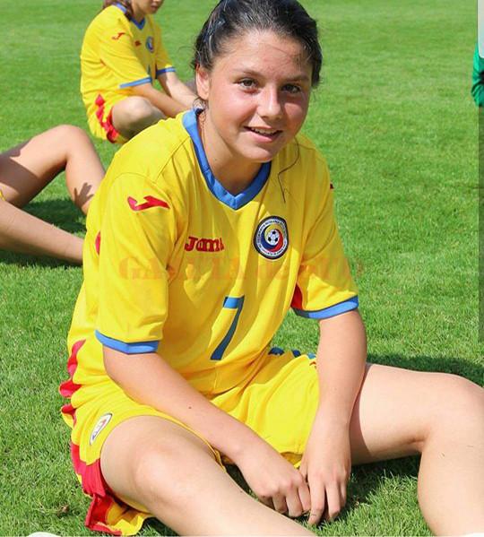 Genoveva Roşie, componentă a naţionalei României, îşi doreşte foarte mult să evolueze în Spania