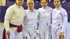 Adela Danciu, Raluca Sbîrcia (ambele de la CS Universitatea Craiova), Amalia Tătăran şi Greta Vereş au făcut parte din echipa medaliată cu bronz la Europene