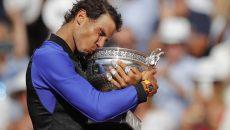 Rafael Nadal s-a impus ieri la Roland Garros, după o finală cu elvețianul Stan Wawrinka