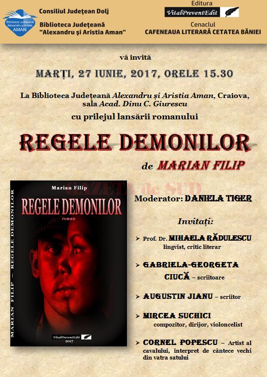AFIS REGELE DEMONILOR - MARIAN   FILIP