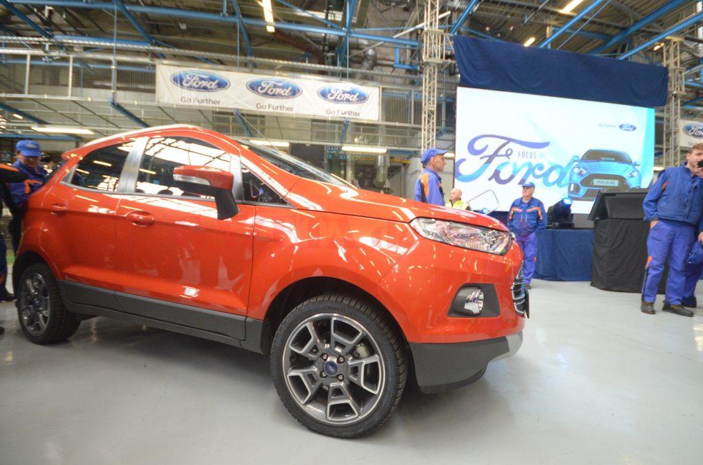 În uzina auto de la Craiova au fost deja produse șase prototipuri de Ford EcoSport,  care urmează să facă testele necesare, pe străzile din oraș