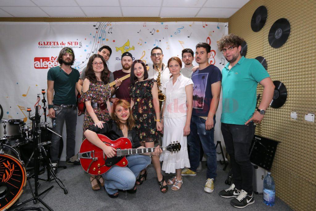 Casual Band alături de echipa Radio Sud