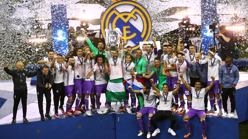 "Real Madrid este ""regina"" Europei al doilea sezon consecutiv (Foto: uefa.com)"
