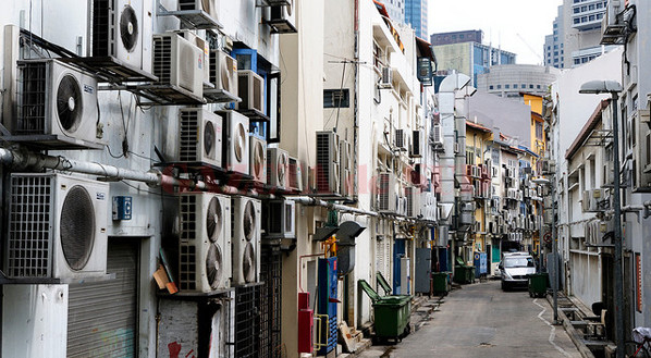 Where Air Conditioners Live