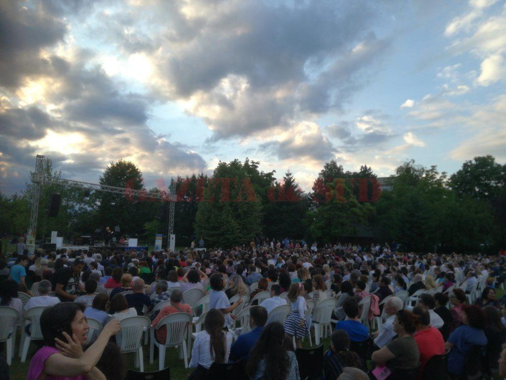 Concertul a avut loc la finalul săptămânii trecute