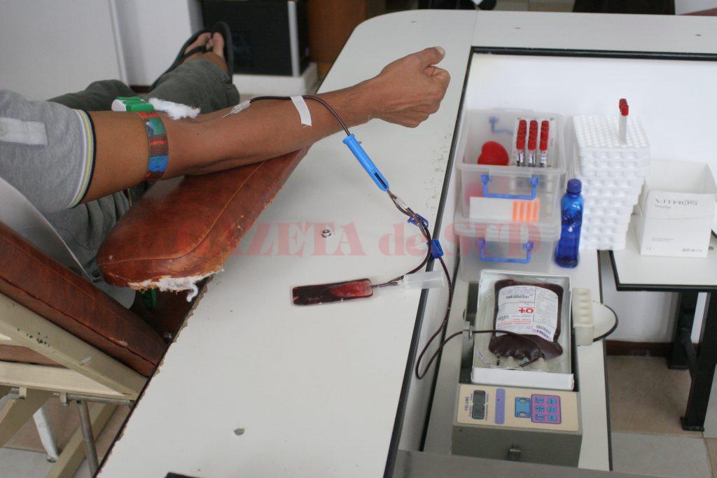 Este nevoie de implicarea comunității și de cât mai mulți donatori de sânge
