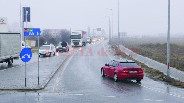 În prezent, şoferii sunt obligaţi să treacă prin multe localităţi pentru a ajunge la Bucureşti