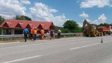 Drumarii au început lucrări pe DN 67