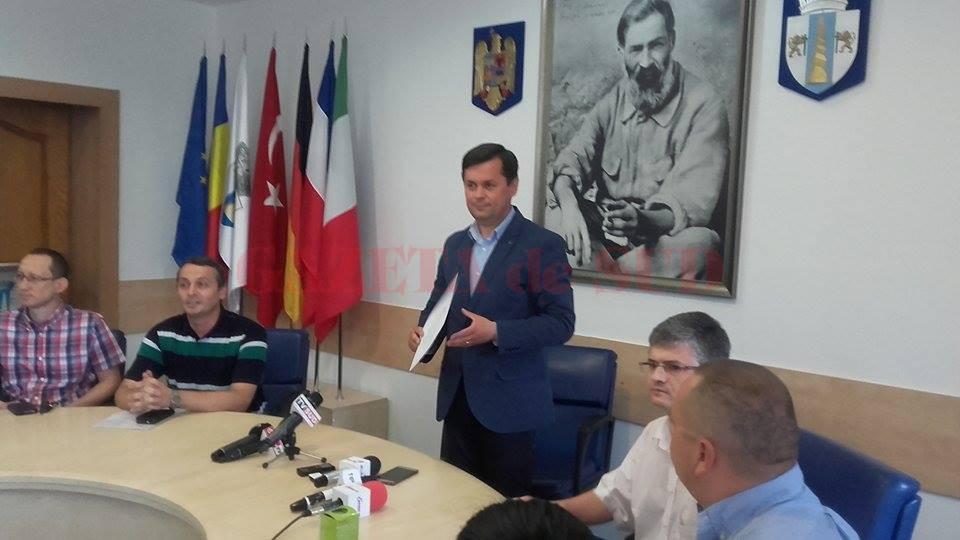 Marcel Romanescu, primarul ales al municipiului Târgu Jiu