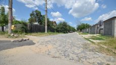 Străzi din Craiova pavate cu bolovani de râu (Foto: Bogdan Grosu)