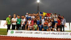 Atleții români au obținut 26 de medalii la Campionatul Balcanic (foto: FRA)